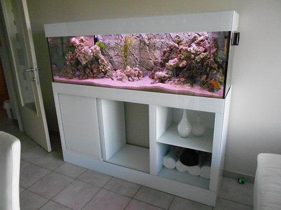 Aquarium met bioblok