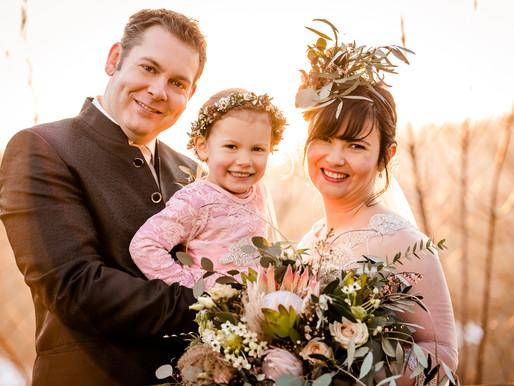 Wintermärchen Hochzeit Ines & Sebastian & Mia