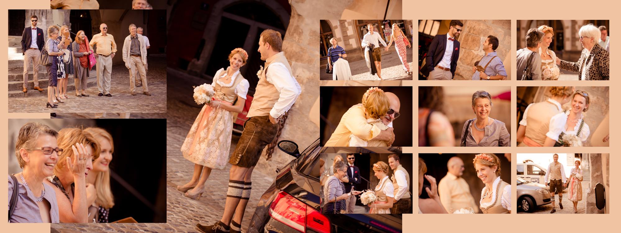 Hochzeitsbuch Lisa & Peter Seite 2