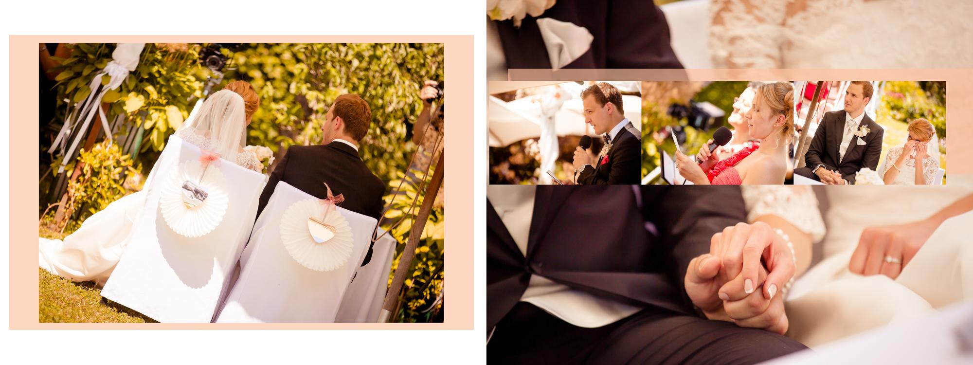 Hochzeitsbuch Lisa & Peter Seite 12