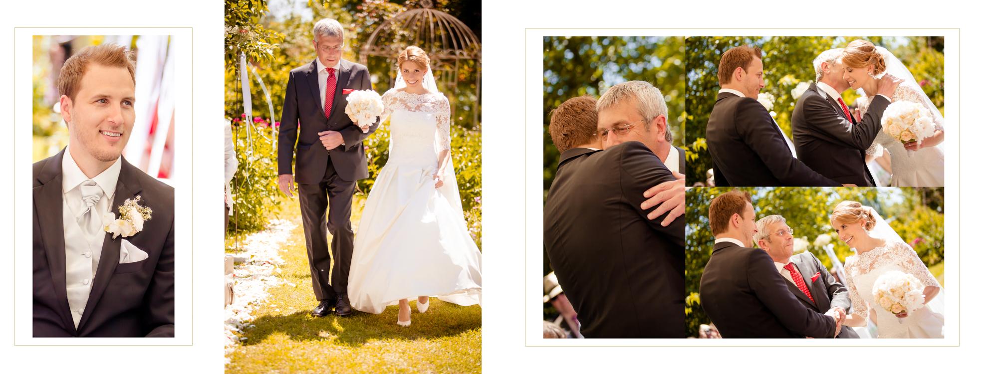 Hochzeitsbuch Lisa & Peter Seite 10