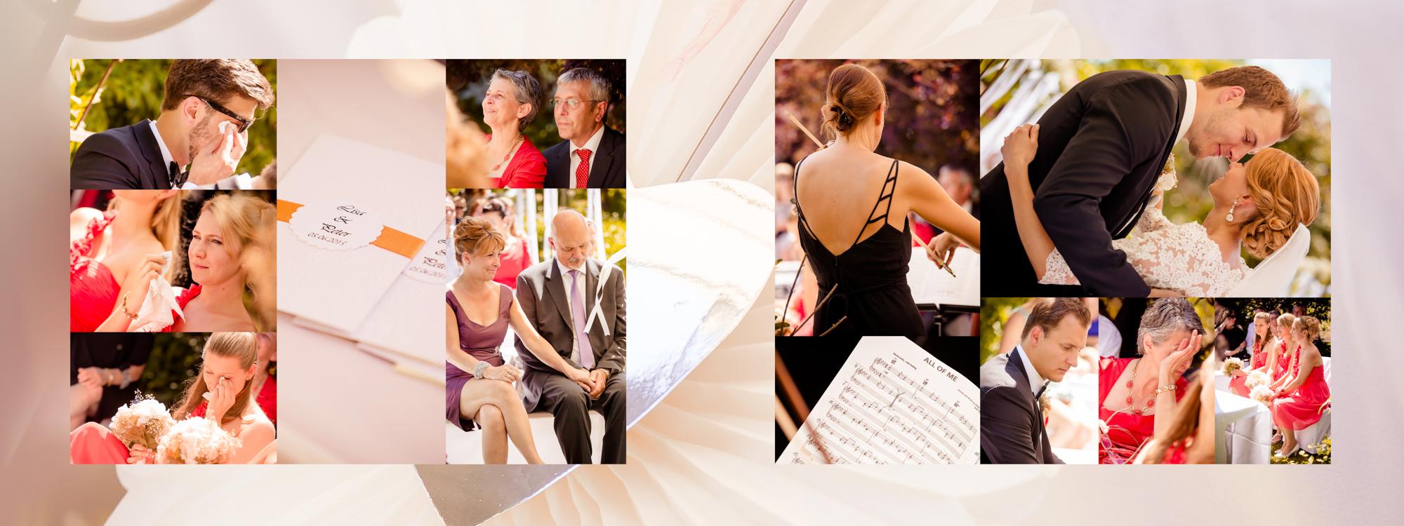 Hochzeitsbuch Lisa & Peter Seite 16