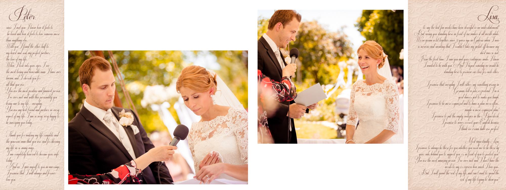 Hochzeitsbuch Lisa & Peter Seite 13