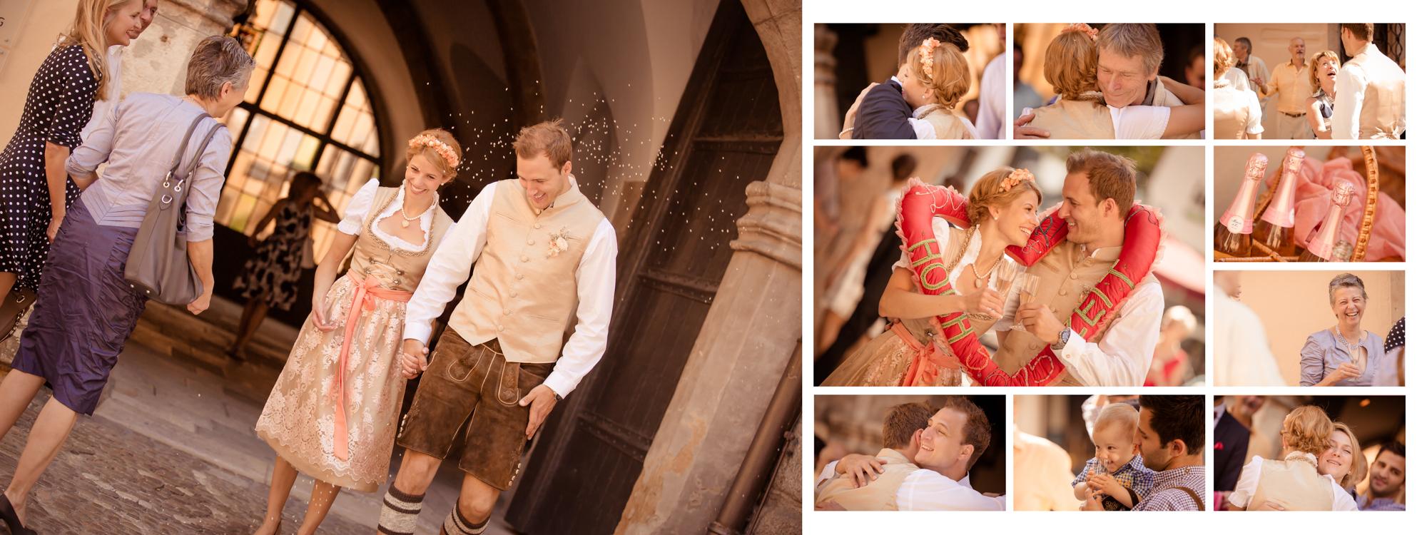 Hochzeitsbuch Lisa & Peter Seite 4