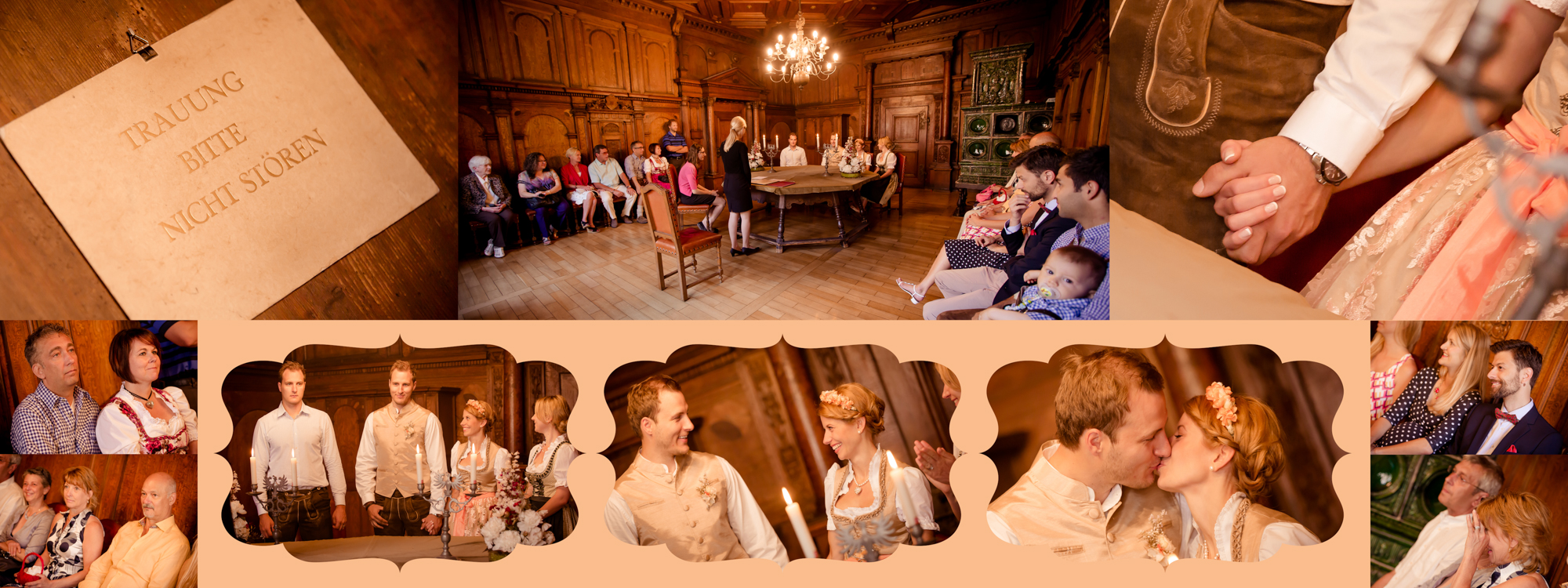 Hochzeitsbuch Lisa & Peter Seite 3