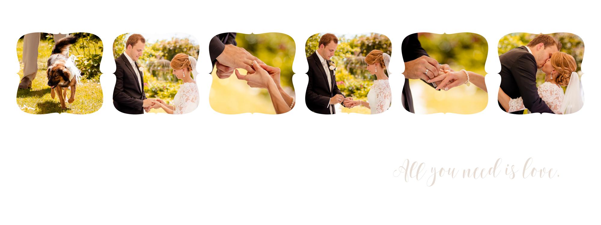 Hochzeitsbuch Lisa & Peter Seite 15