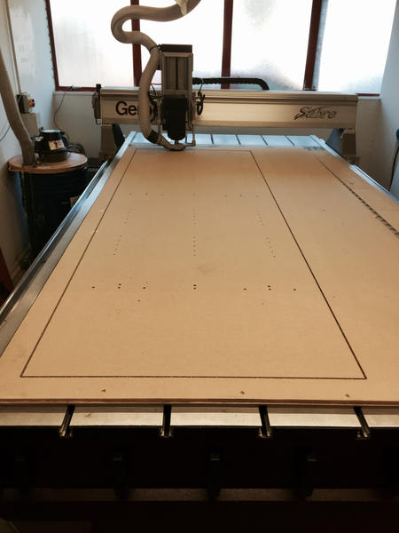 MDF CNC Routing