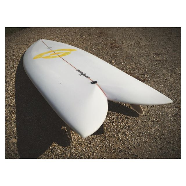 "6'1"" HIPPIE FISH with @varial_surf infus"