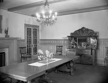 The Baron Walter von Richthofen's original furniture at the Richthofen Castle