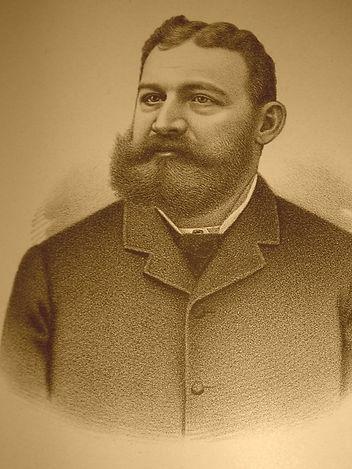 The Baron Walter von Richthofen, original owner of the Richthofen Castle and developer of Montclair, Colorado