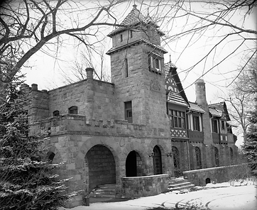 The haunted Richthofen Castle was built in 1886