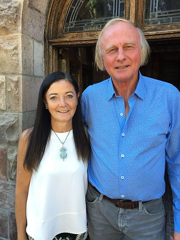 Sylvia and Jesse Jesperon, Owners of the Richthofen Castle in Montclair, Denver, Colorado
