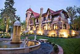 Castles in the US: Richthofen Castle, Denver, CO