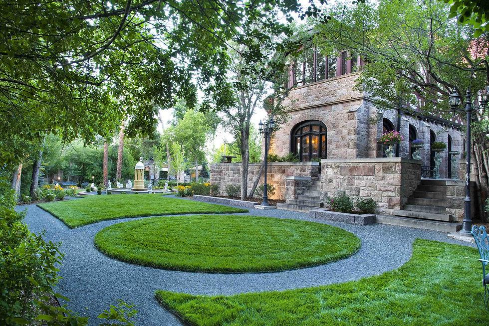 The Richthofen Castle's Award-Winning Gardens