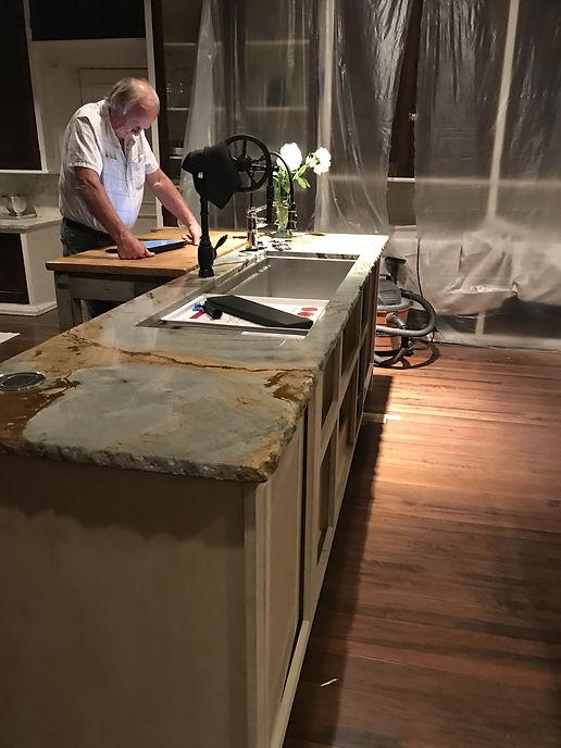 Renovating the Richthofen Castle kitchen