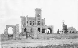 Historic Photo of Ricthhofen Castle in Montclair, Colorado