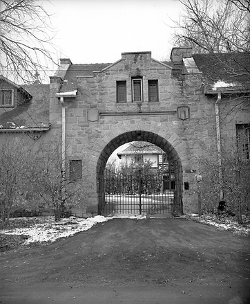 The Richthofen Castle gatehouse
