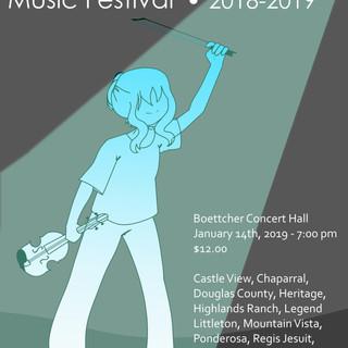 Continental League Music Festival Poster Design