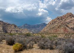 Red Rocks Vegas Landscape