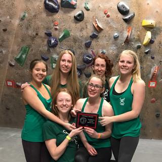 Girls Climbing Team 2017