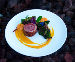 Lamb with Persimmon