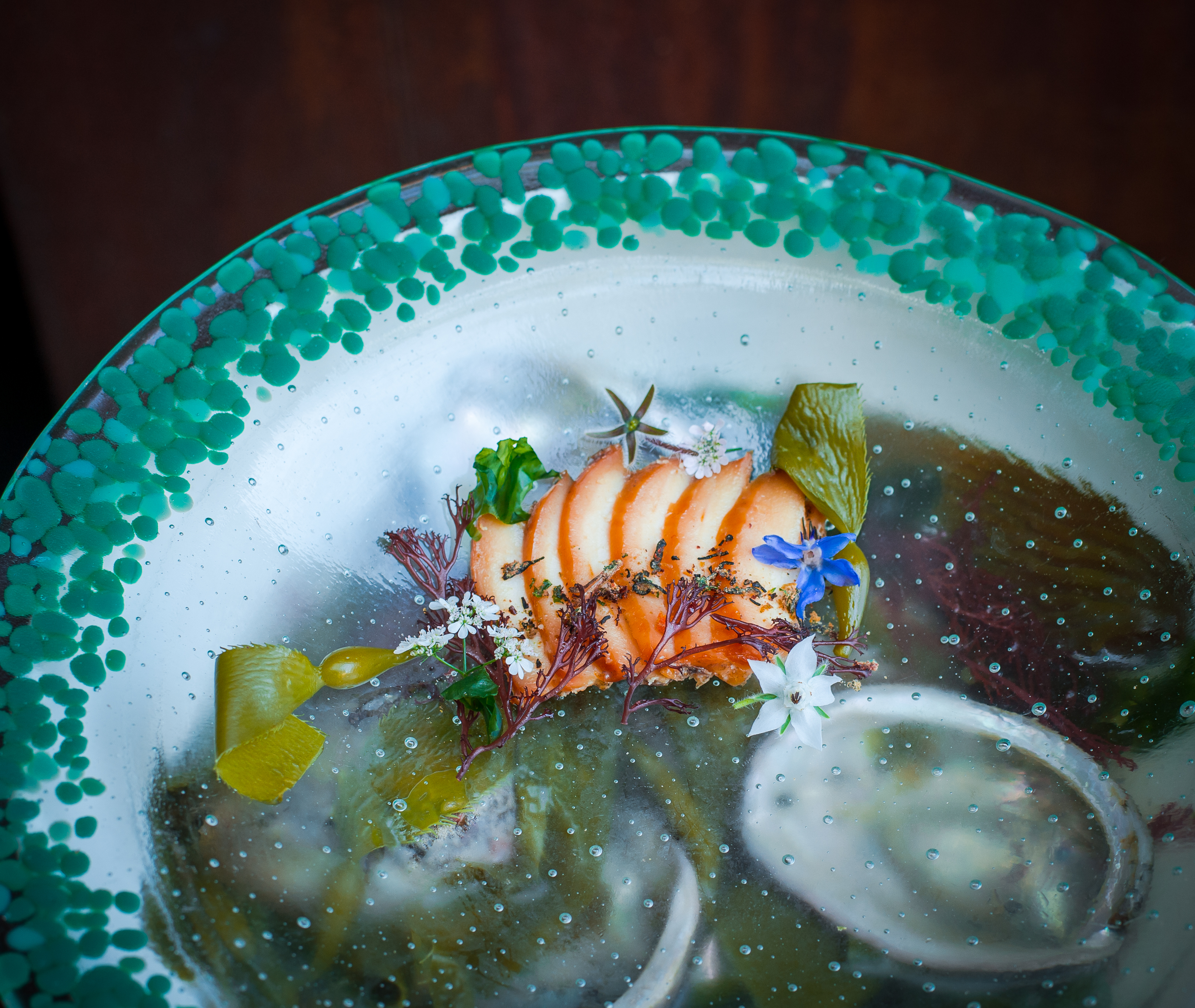 Kelp Baked Abalone