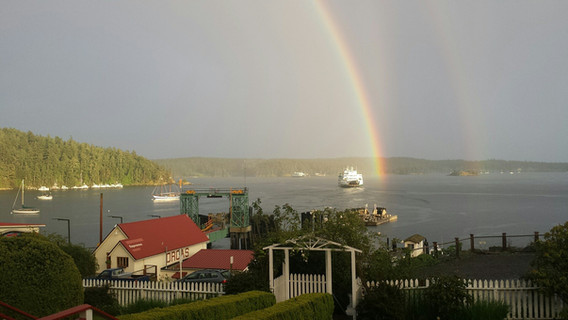 Rainbow at Landing