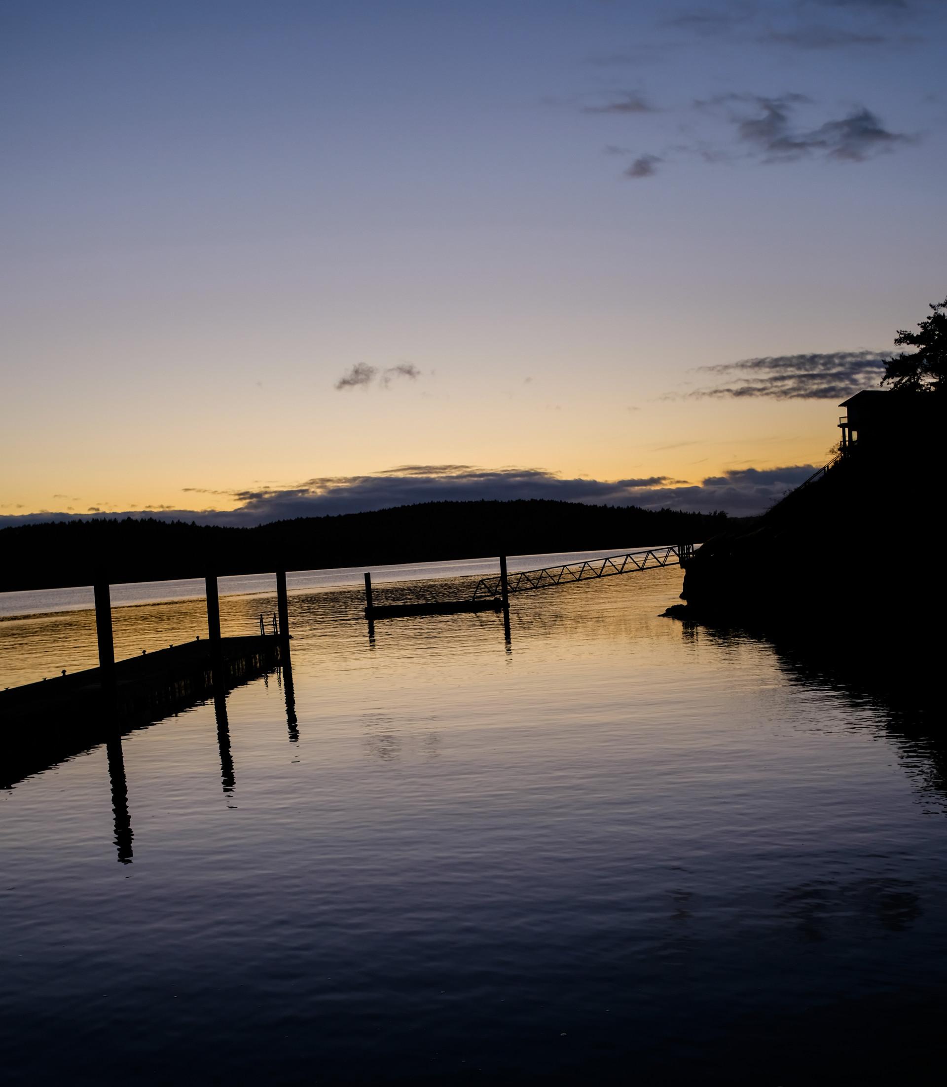 Docks At Sunset