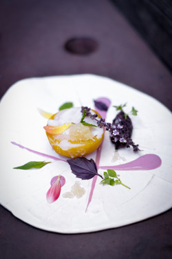 Beets with Black Rice