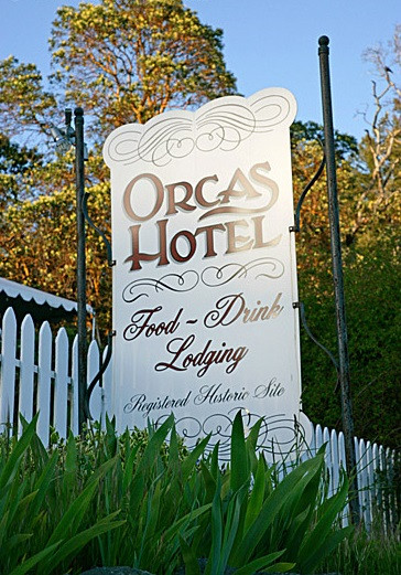 Orcas Sign