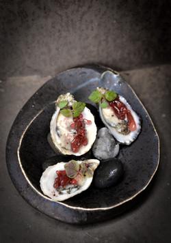 Morro Bay Oysters, Sea Grapes