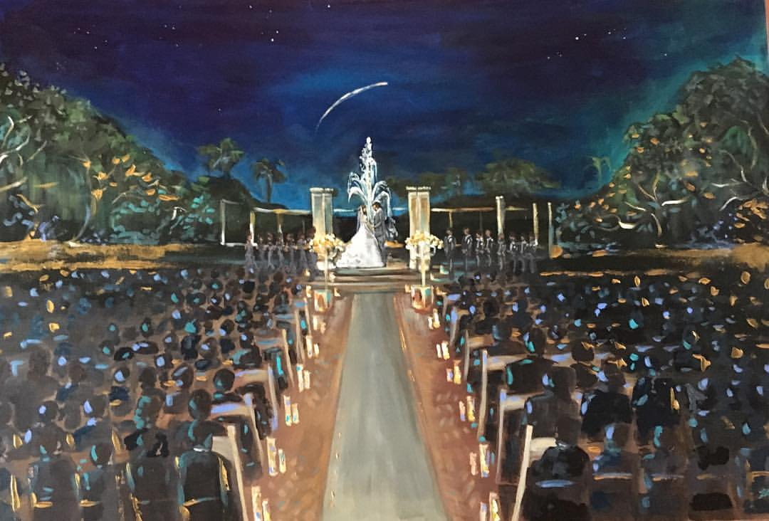 Wedding Painter Vieux Carre Events
