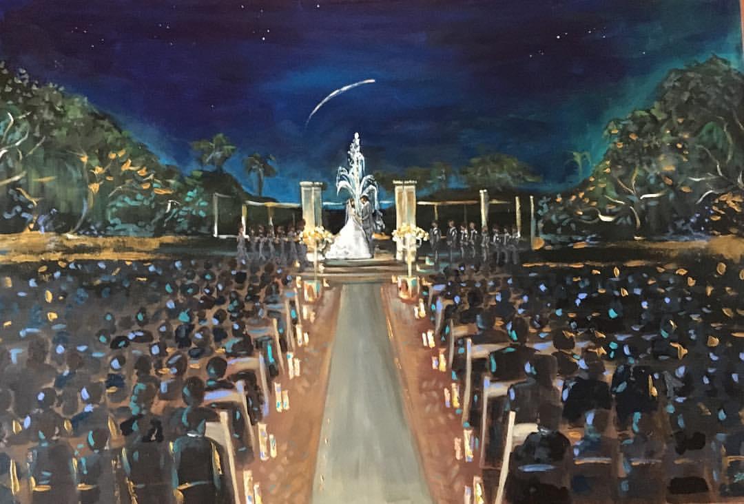 Wedding Painter Vieux Carre Events