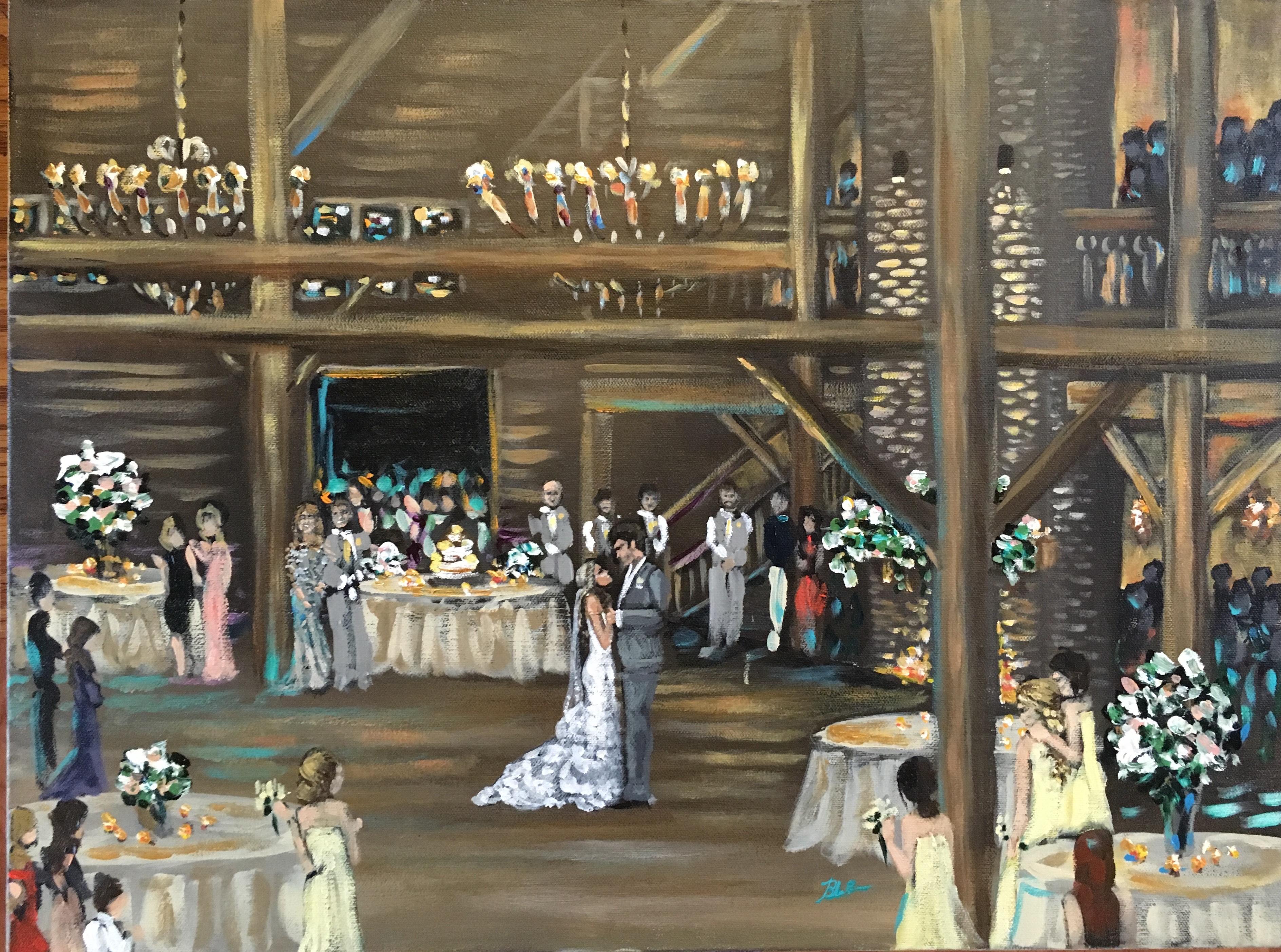 New Orleans Wedding Painter