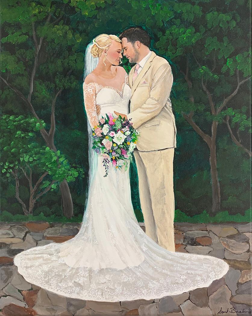 New Orleans Wedding Portrait
