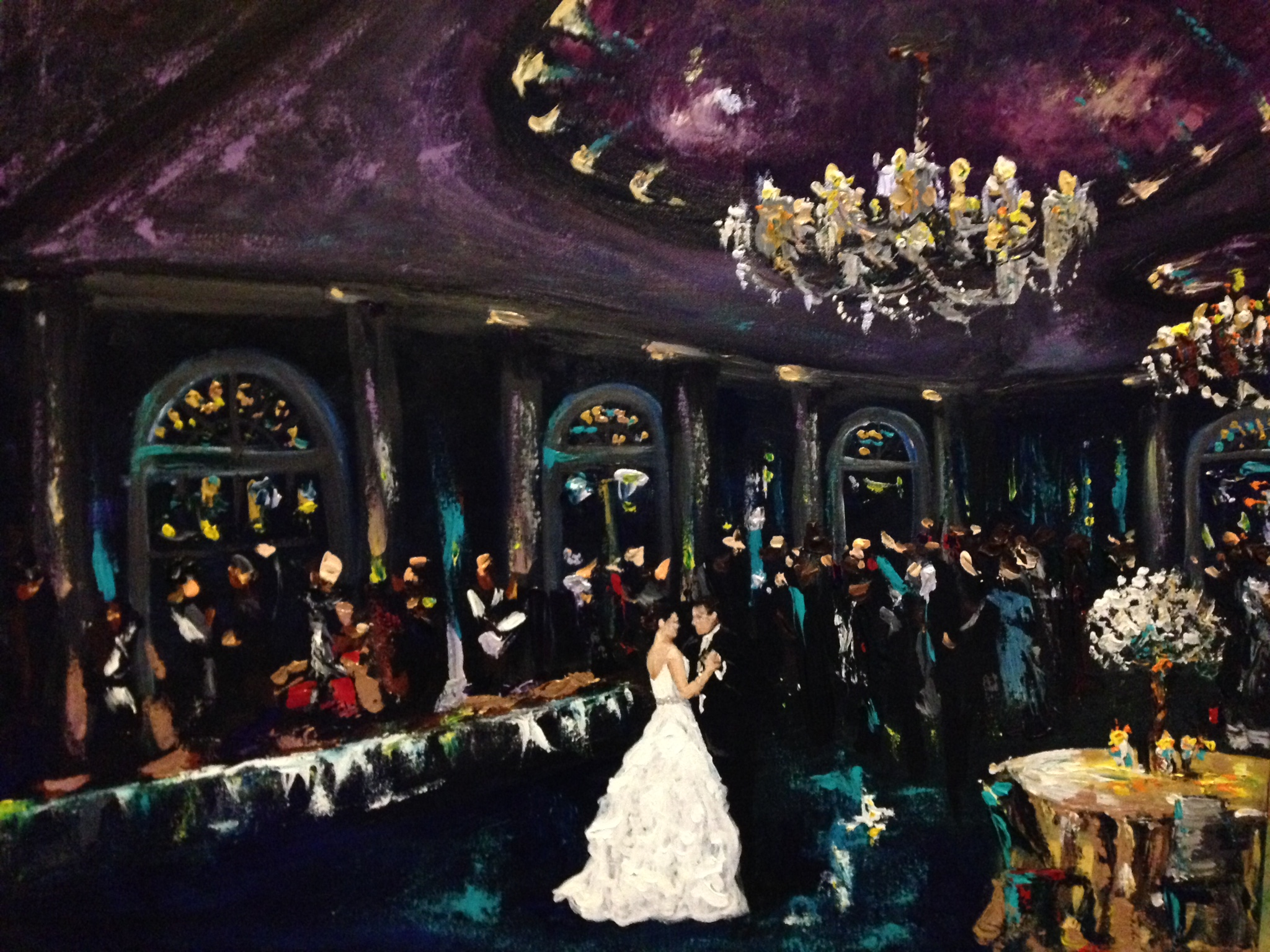 gretna live event painting