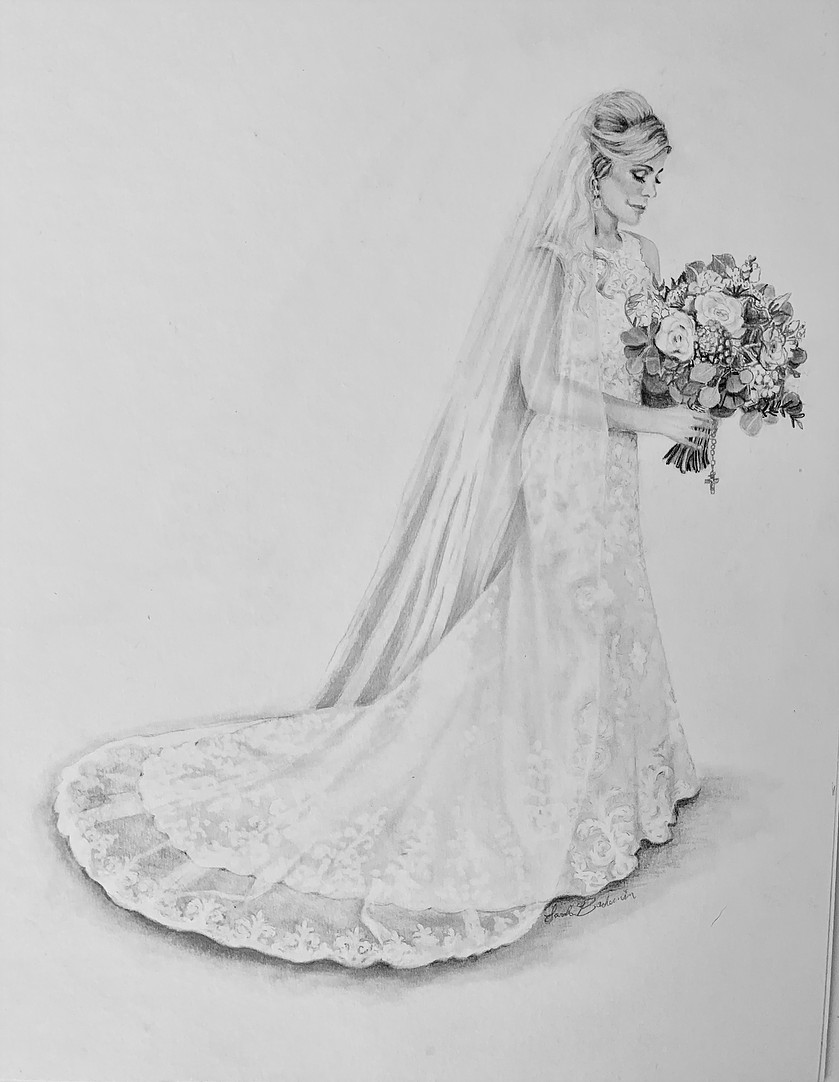 New Orleans Wedding Bouquet Portrait