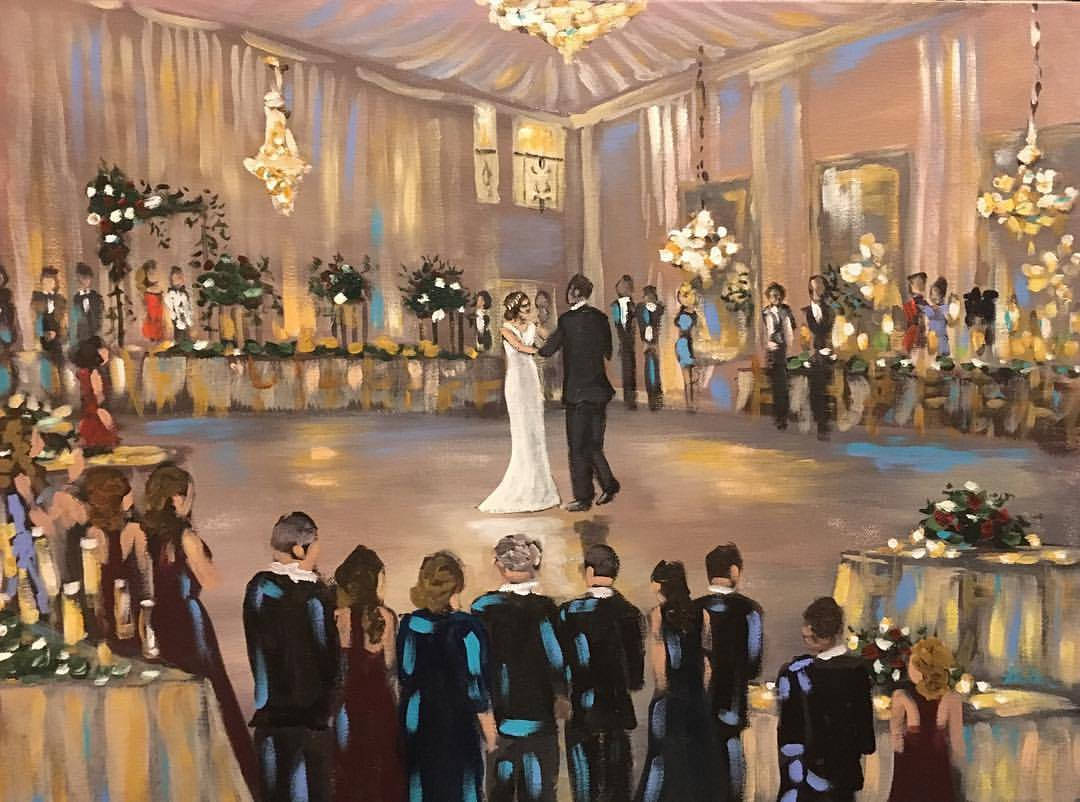 Vieux Carre Wedding Painting