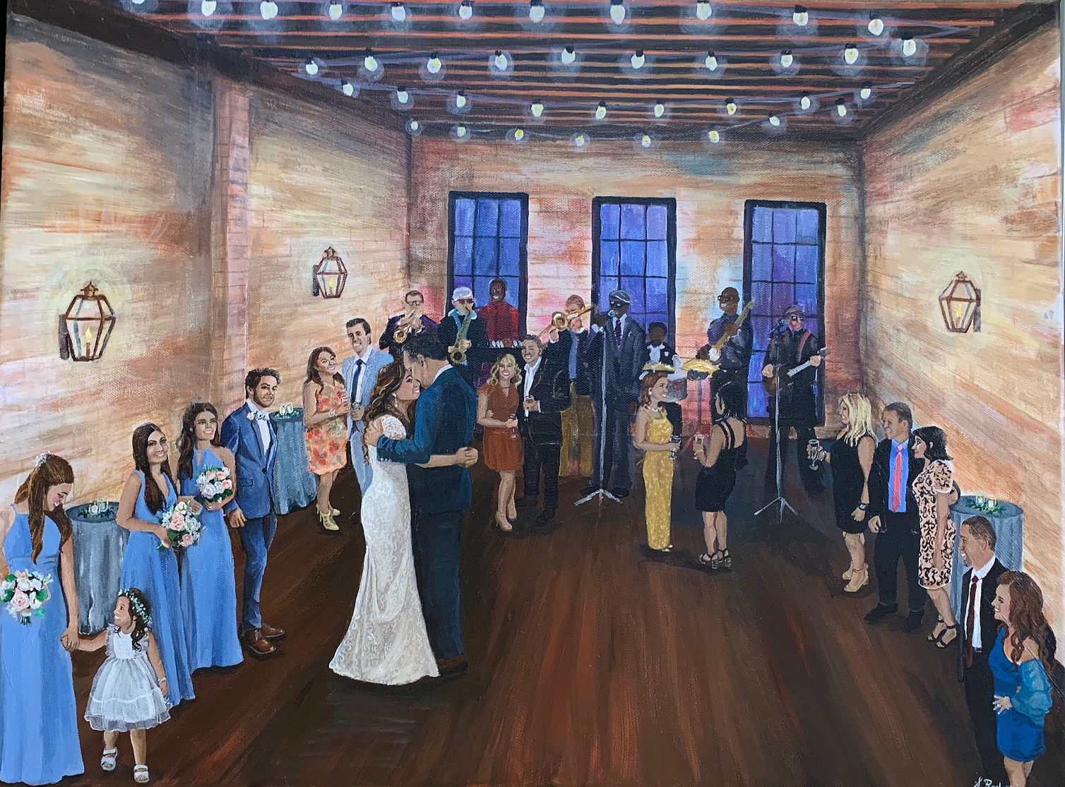 Wedding Painting in New Orleans_The Chic