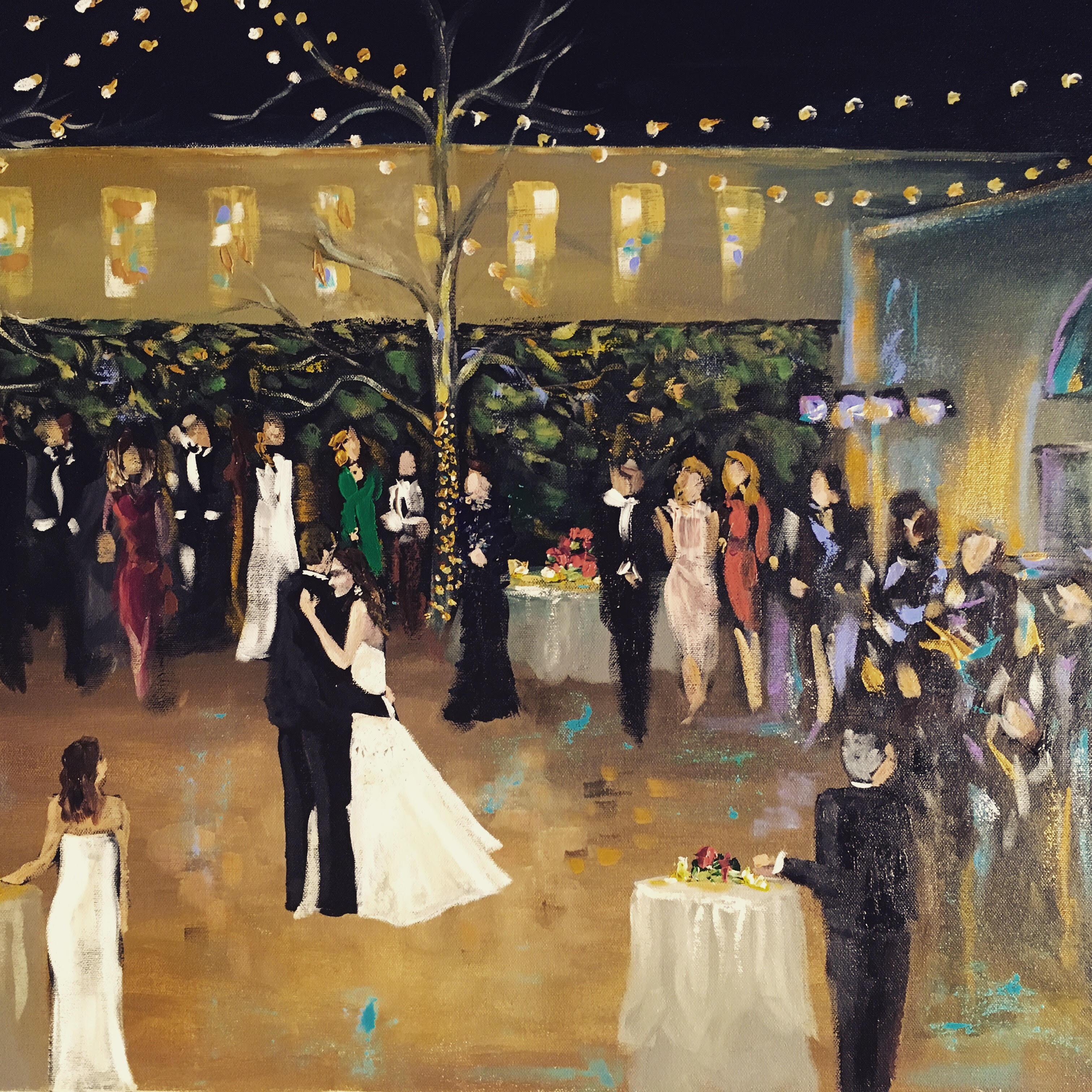 Vieux Carre Live Event Painting