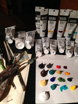 Live Wedding Painter in New Orleans