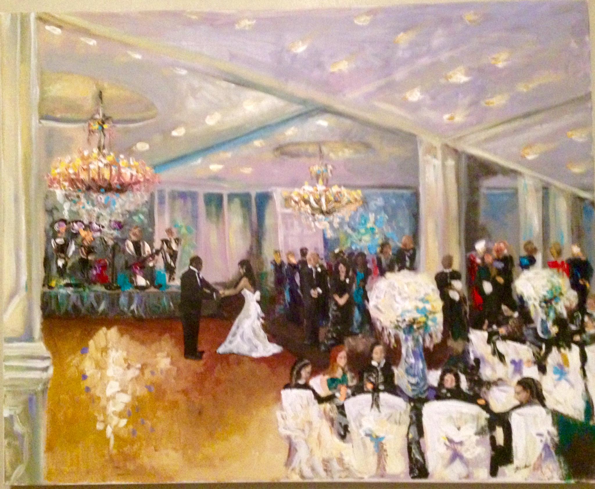 laplace live event painting