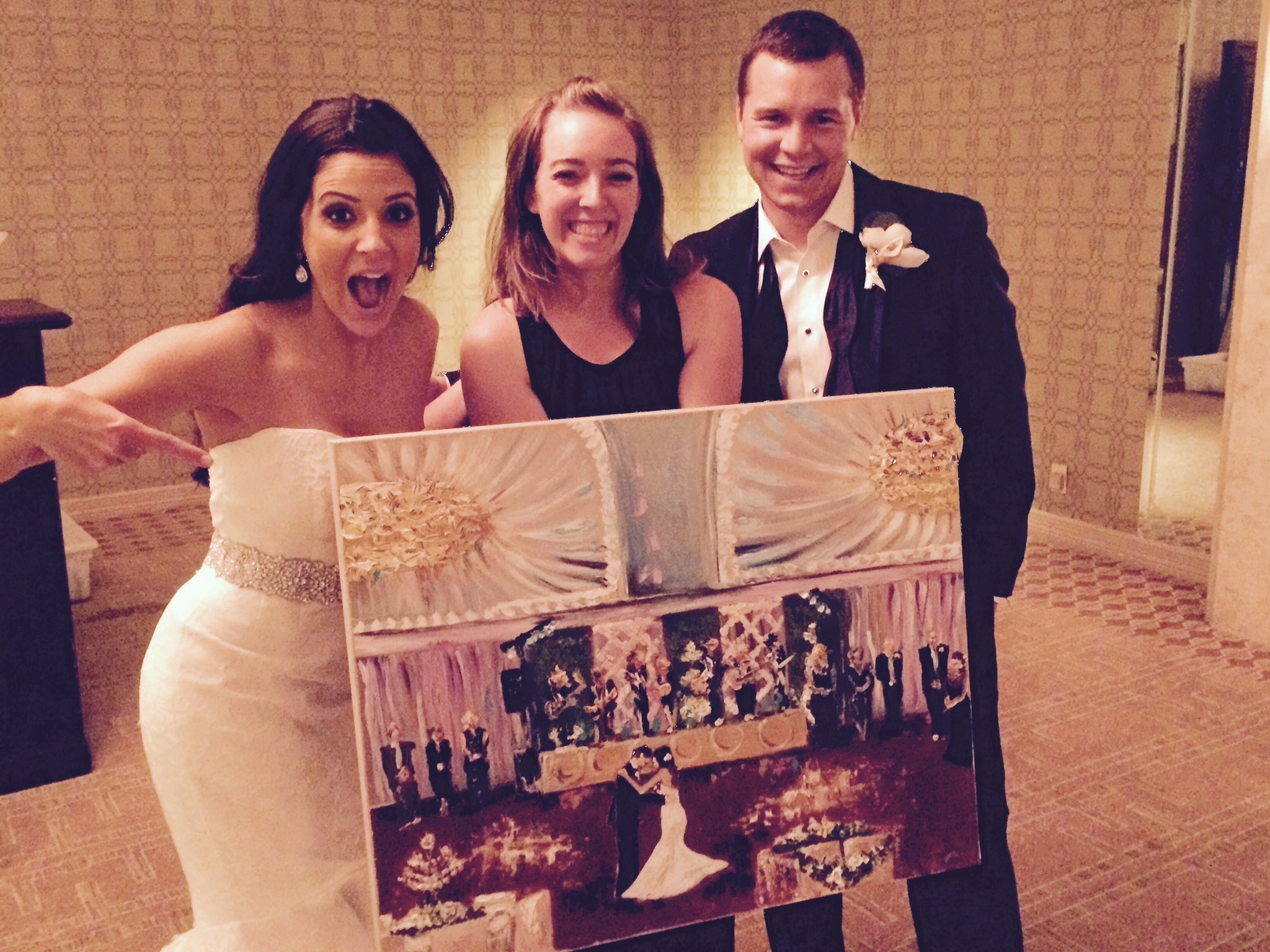 biloxi live wedding painting