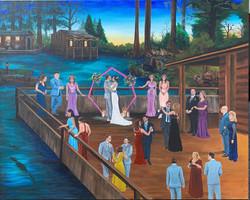 Wedding Painting at Audubon Zoo