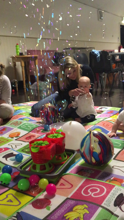 Sensory fun for babies
