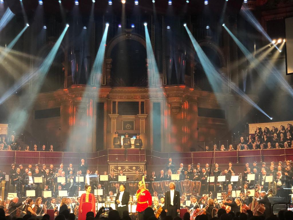Great War Symphony, RAH