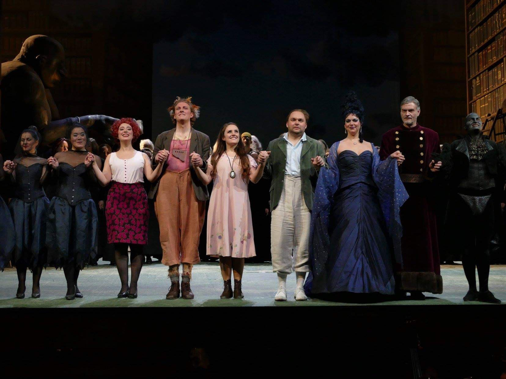 Die Zauberföte, Oper Frankfurt