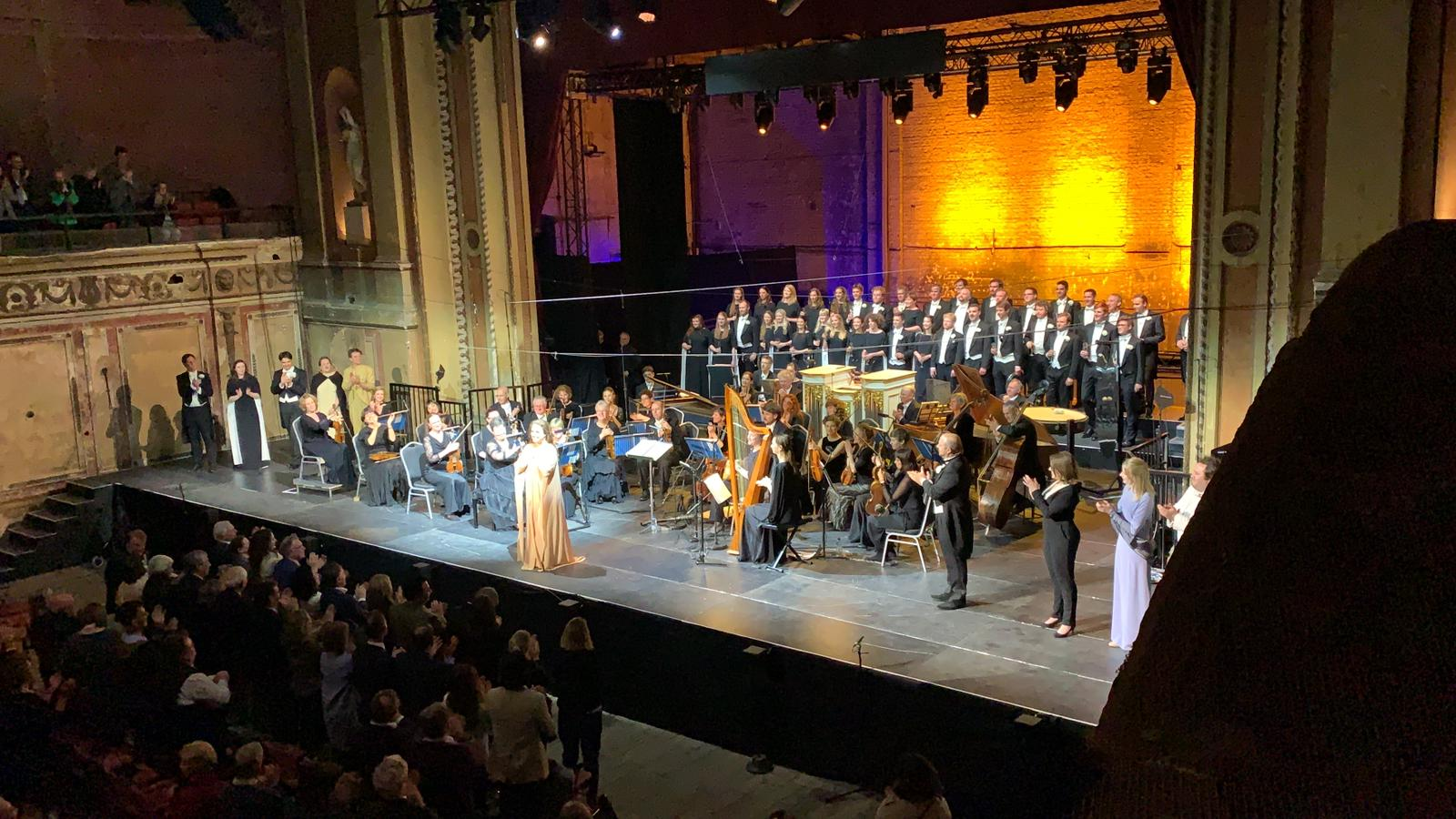 Semele, Monteverdi Choir, Alexandra Pala