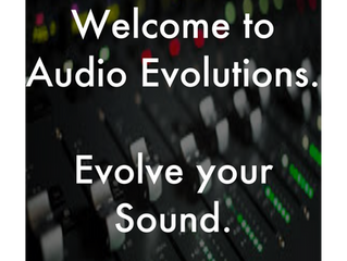 Welcome to Audio Evolutions