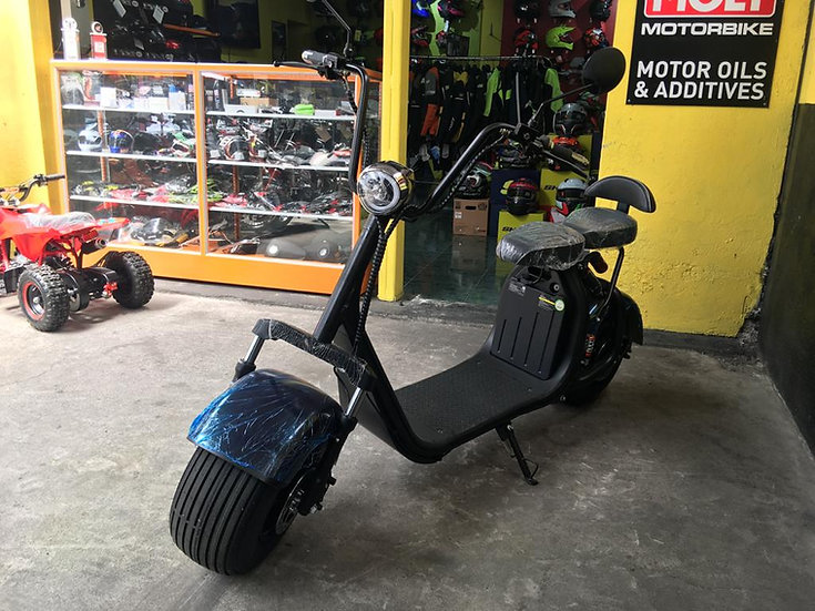 MOTOCICLETA SCOOTER ELÉCTRICA